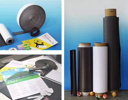 Abyss Magnets for flexible magnetic sheet and materials